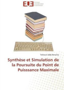 Synthese Et Simulation de La Poursuite Du Point de Puisssance Maximale  [FRE]