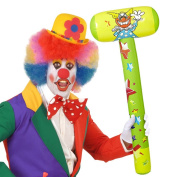 Inflatable clown hammer Clapper bobbin 96 cm Tool for inflating hammer joke article Costume accessories jester Harlequin outfit accessory