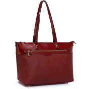 Womens Designer Bags Patent Shoulder Celebrity Style Tote Fashion Handbag (Various Colours, Sizes, and Designs) - Special Discounted Prices