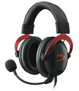 HyperX Cloud II Gaming Headset for PC/PS4/Mac/Mobile - Red