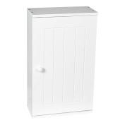 Home Discount Priano Bathroom Cabinet Single Wall Mounted Storage Cupboard Shelf, White