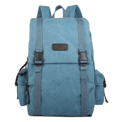 Rich in Style Canvas Backpack with Padded Section for Laptop or iPad