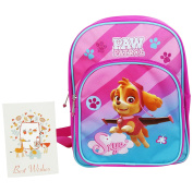 Paw Patrol Fly Primary School Backpack Pink