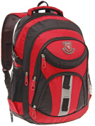 Eliox Backpack multi-coloured red