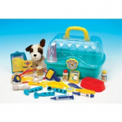 My Pet Vet Centre - Case includes a soft plush puppy and lots of medical accessories to care for your puppy