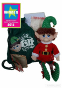The Elf 01 Boy Plush Toy with A Sack/Letter from Father Christmas