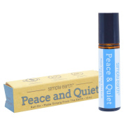 Peace & Quiet Essential Oil Blend Roll-On Bottle by Simply Earth - 10ml, 100% Pure Therapeutic Grade