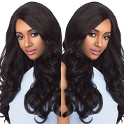 Ten Chopstics Thick Unprocessed Brazilian Human Hair Lace Front Wigs Bleached Knots Virgin Hair Front Lace Wigs for Black Women Natural Baby Hair in Stock