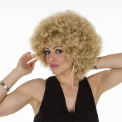 Golden Blonde Large Afro Foxy Wig | Super Volume | Realistic Hair-Like Fibre