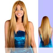 MELISSA (FA Fashion) - Heat Resistant Fibre Lace Front Wig in TT_BURG