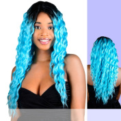 AMANDA (FA Fashion) - Heat Resistant Fibre Lace Front Wig in 3T1B_30