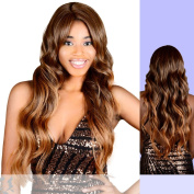 JULIA (FA Fashion) - Heat Resistant Fibre Lace Front Wig in DX2216