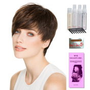 Point by Ellen Wille, Wig Galaxy Hair Loss Booklet, Shampoo, Conditioning Spray, Flexible Spray, HD Smooth Detangler, Wig Cap, & Wide Tooth Comb (Bundle - 8 Items), Colour Chosen