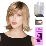 Lucky by Ellen Wille, Wig Galaxy Hair Loss Booklet, Shampoo, Conditioning Spray, Flexible Spray, HD Detangler, Wig Cap, & Wide Tooth Comb (Bundle - 8 Items), Colour Chosen