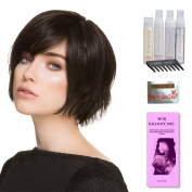Echo by Ellen Wille, Wig Galaxy Hair Loss Booklet, Shampoo, Conditioning Spray, Flexible Spray, HD Smooth Detangler, Wig Cap, & Wide Tooth Comb (Bundle - 8 Items), Colour Chosen