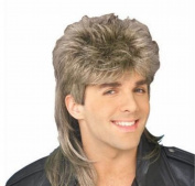 Diy-Wig . Mens Retro 70s 80s Disco Mullet Wig Fancy Party Accessory Cosplay Wig