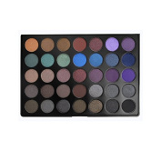Morphe Pro 35 Colour Eyeshadow Makeup Palette - Dark Smoky Palette 35D