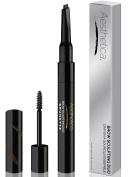 Aesthetica Brow Sculpting Duo - Double Ended Eyebrow Definer with Brow Gel - Smear Proof Formula - Vegan & Cruelty Free