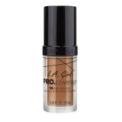 L.A. Girl Pro Coverage Liquid Foundation, Sand, 0.95 Fluid Ounce