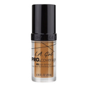 L.A. Girl Pro Coverage Liquid Foundation, Bronze, 0.95 Fluid Ounce