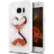 UCLL for Samsung Glaxy S6 Case,Time hourglass Design Case for Glaxy S6 with a Screen Protector