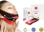 ChinUp Mask Trial Pack - Non Surgical Chin up Lift, Face lift, Anti-Ageing & Slimming Face Mask for Sagging Double Chin
