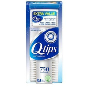 Q-tips Cotton Swabs (750 Ct 2 Pk) + 30 Ct Travel Pack by Q-tips