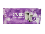 Trust 30 Pedal Bin Liners with tie handles 25 Ltr capacity