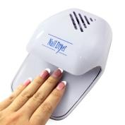 Portable Nail Dryer,Ikevan Fashion Hand Finger Toe Nail Art Polish Paints Dryer Blower Mini Tool