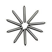 AUTOTOOLHOME 10pc Engraver Carbide Point Bit Tips Nozzle for Electric Engraver Engraving Metal Wood PVC Plastic