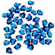 1 X Translucent Royal Blue Acrylic Ice Rocks for Vase Fillers or Table Scatters -MP#GH4498 349Y49HBRG9160444