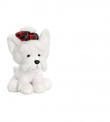 Keel Toys Hamish Westie and Scottie Dog 15cm (White Westie) by Keel Toys