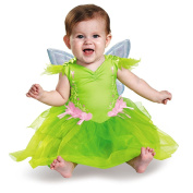 Disguise Baby Girls' Tinker Bell Deluxe Infant Costume