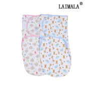 LAIMALA Baby Swaddle Blankets Soft Cotton Blankets for Nursery Sets