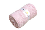 Cable Mix - Pink - Baby Blanket by Pink Lemonade - 100% Cotton