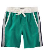 OshKosh B'Gosh Boy's Green French Terry Shorts