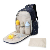 MOMMORE Baby Nappy Nappy Mummy Changing Bags Picnic Cloth Backpacks Flower