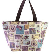 Dolly Lovely Every Day Waterproof Casual Shoulder Tote Nappy Baby Bag- Flowers And Butterfly