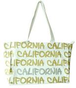 Robin Ruth California Classic Medium Canvas White, Gold, Silver