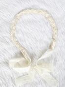 Sweet and shine bridal crystal lace headband