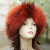 Orange Headband Wide Headband
