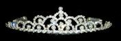 #10235 - Pearl Mountain Crystal Tiara