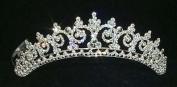Contoured Princess Tiara #11438