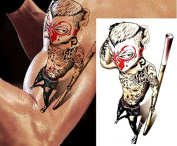 Temporary Tattoos Monkey Kung Fu Design Body Art Fake Tattoo Sticker Waterproof