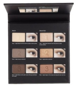 Nordstrom Flawless Natural Eyes Palette 6 Eye Shadow Compact W/Mirror New W/Box!