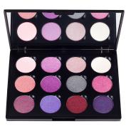 Coastal Scents Winterberry Eye Shadow Makeup Palette, 250ml