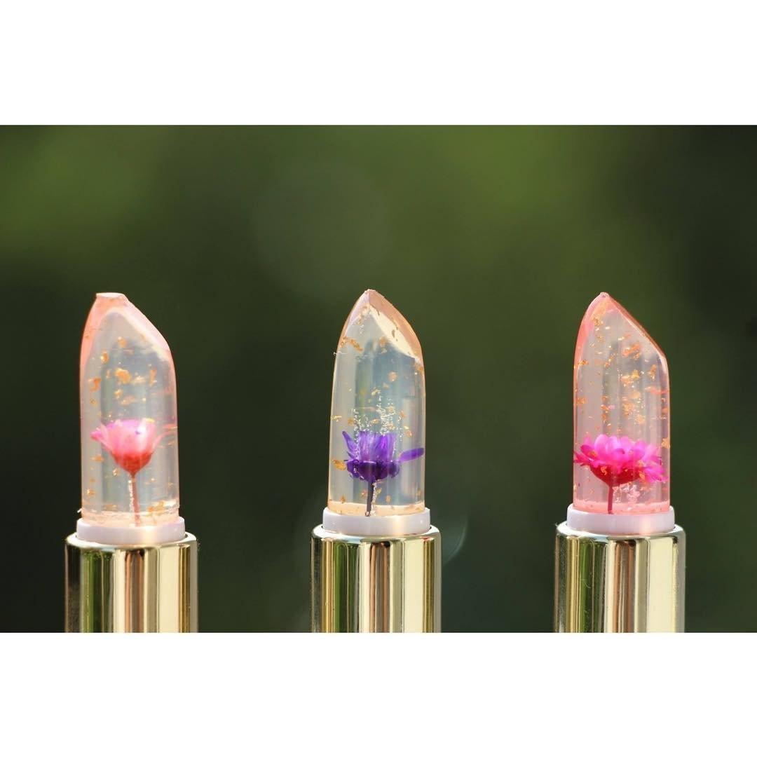 Kailijumei Flower Jelly Lipstick - Dream Purple (Dream Purple + Barbie Doll Powder + Flame Red) by Kailijumei - Shop Online for Beauty in New Zealand