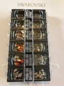 CRYSTAL ASSORTED OPAL, FLAME, CUBE 720PC $85dls