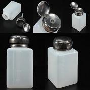 Bhbuy 200ml Empty Pump Dispenser Bottle For Nail Art Polish Acrylic Liquid Remove