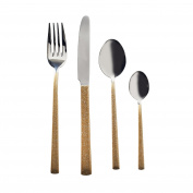 Viners High Fashion Dazzle Gold 16 Piece Cutlery Set